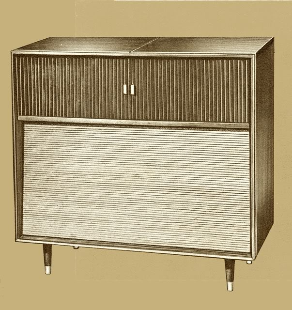 Fisher Contemporary C800 Console