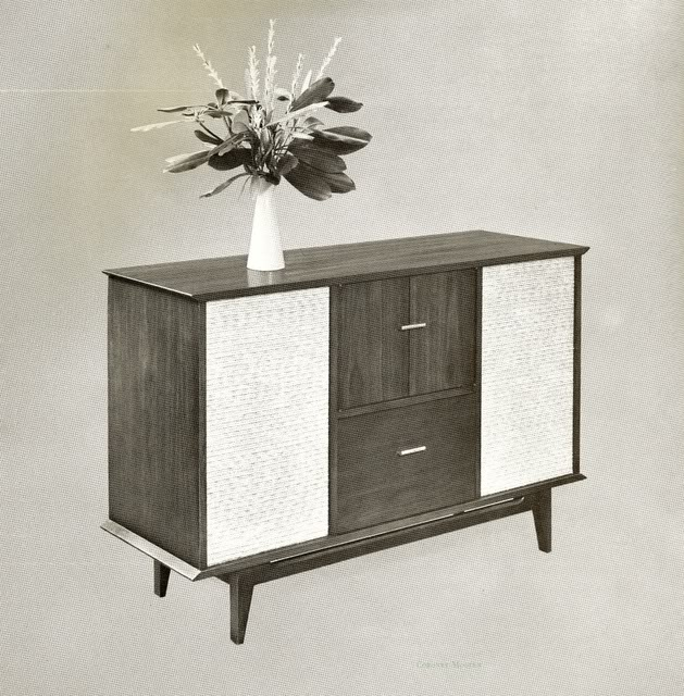 Fisher Coronet C808 Modern Console