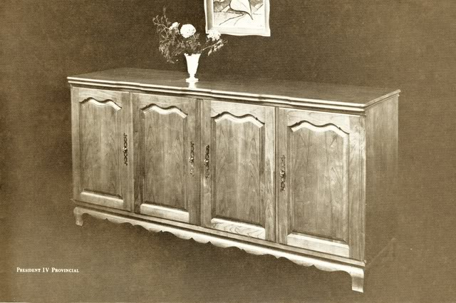 Fisher President IV Provincial Console