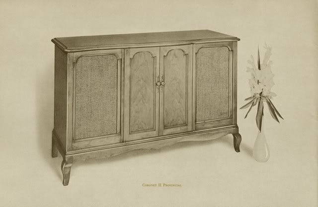 Fisher Coronet II Provincial Console