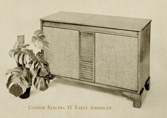 Fisher Custom Electra IV Early American Console
