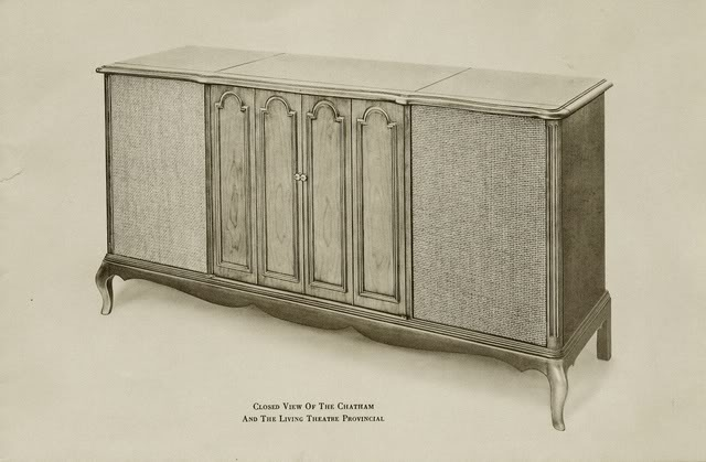 Fisher Chatham Provincial II Console
