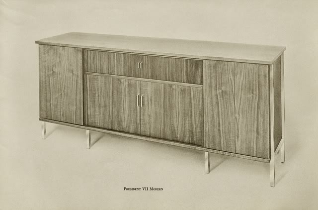 Fisher President VII Modern Console