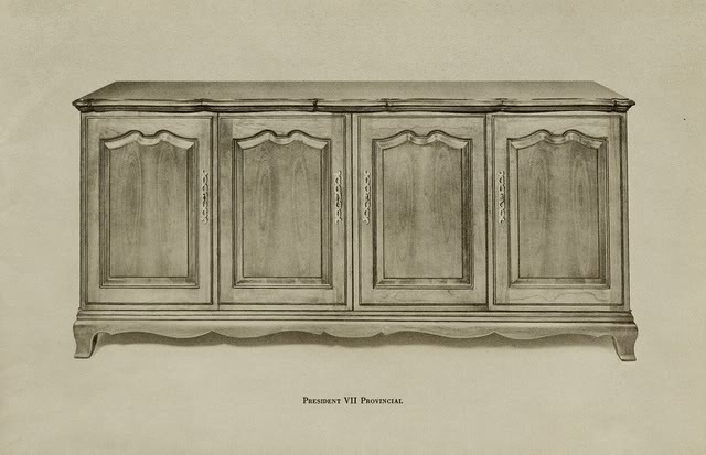 Fisher President VII Provincial Console