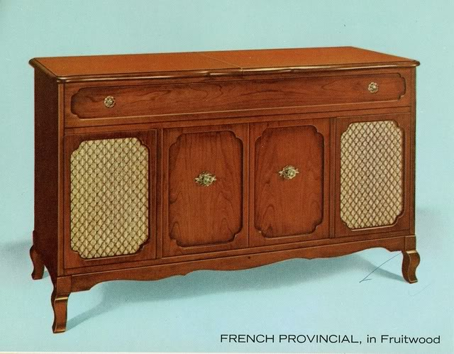 Fisher Custom Electra VII French Provincial Console