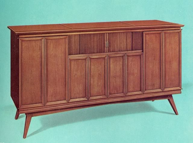 Fisher Executive IX Modern Console