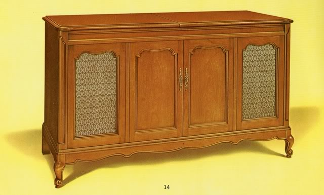 Fisher Statesman IV Provincial Console