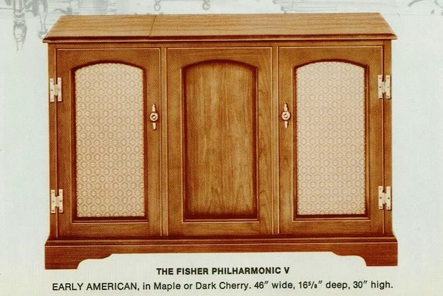 Fisher Philharmonic V Early American Console
